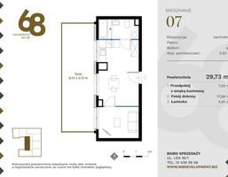 Morizon WP ogłoszenia   Mieszkanie na sprzedaż, Kraków Krowodrza, 30 m²   3899