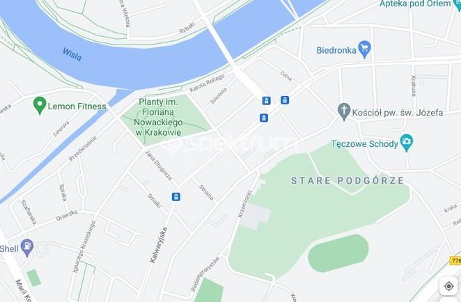 Morizon WP ogłoszenia   Kawalerka na sprzedaż, Kraków Podgórze, 38 m²   7947