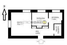 Mieszkanie do wynajęcia, Warszawa Kabaty, 71 m²