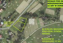Działka na sprzedaż, Domaradz, 2200 m²