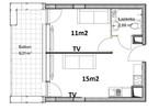 Morizon WP ogłoszenia | Mieszkanie na sprzedaż, Lublin Wieniawa, 29 m² | 6625