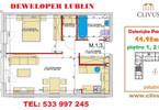 Morizon WP ogłoszenia | Mieszkanie na sprzedaż, Lublin Dziesiąta, 45 m² | 6786