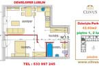 Morizon WP ogłoszenia   Mieszkanie na sprzedaż, Lublin Dziesiąta, 43 m²   6789