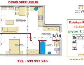 Mieszkanie na sprzedaż, Lublin Dziesiąta, 43 m²