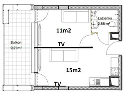 Morizon WP ogłoszenia   Mieszkanie na sprzedaż, Lublin Wieniawa, 29 m²   6687