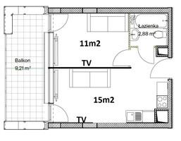Morizon WP ogłoszenia   Mieszkanie na sprzedaż, Lublin Wieniawa, 29 m²   6686