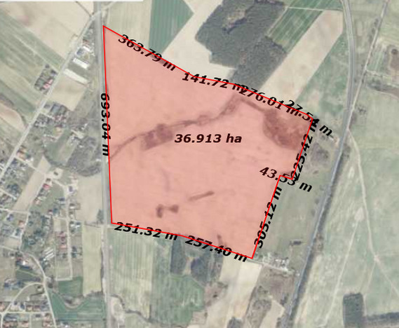 Działka na sprzedaż, Golęczewo Spokojna, 366000 m² | Morizon.pl | 8385