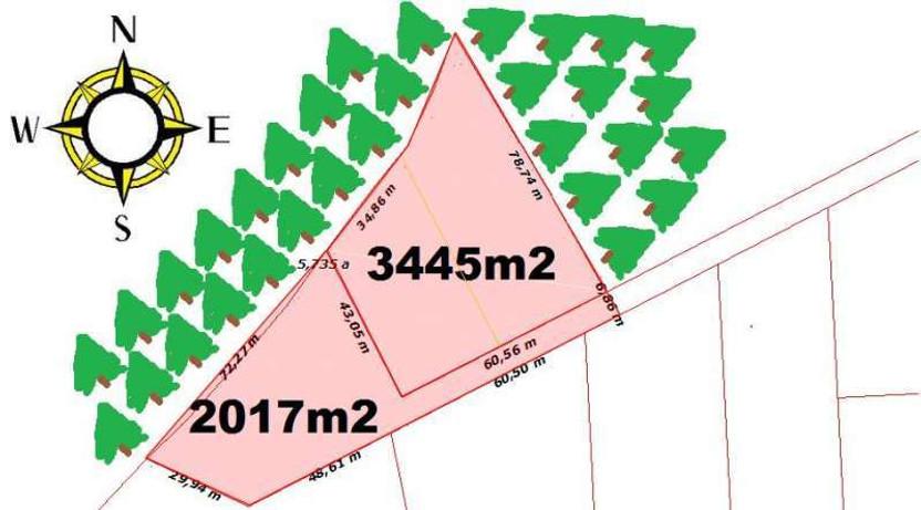 Działka na sprzedaż, Dobra, 3403 m²   Morizon.pl   7743
