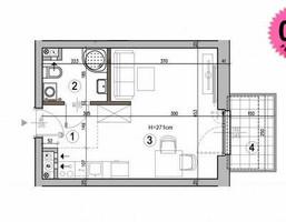 Morizon WP ogłoszenia | Kawalerka na sprzedaż, Ząbki, 25 m² | 8289