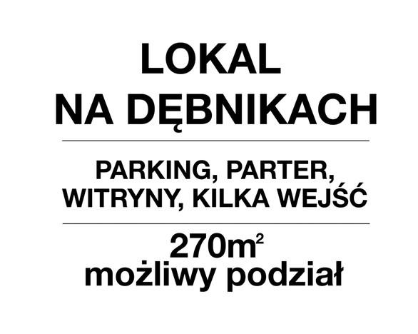 Lokal użytkowy do wynajęcia, Kraków Dębniki, 270 m²   Morizon.pl   4206