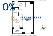 Mieszkanie na sprzedaż, Kraków Mistrzejowice, 39 m²