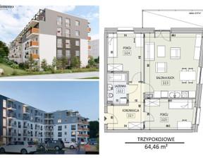 Mieszkanie na sprzedaż, Olsztyn Pojezierze, 64 m²
