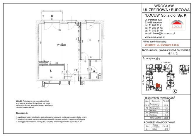 Mieszkanie na sprzedaż, Wrocław Krzyki, 54 m²   Morizon.pl   1601