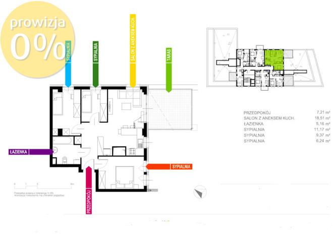 Morizon WP ogłoszenia   Mieszkanie na sprzedaż, Gliwice Stare Gliwice, 58 m²   8968