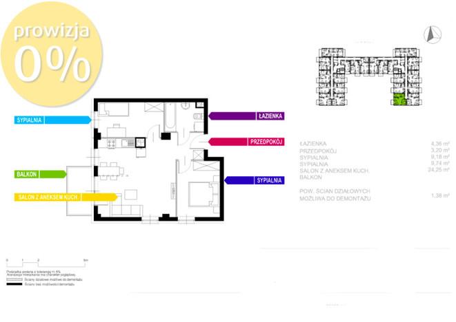 Morizon WP ogłoszenia   Mieszkanie na sprzedaż, Sosnowiec Sielec, 52 m²   0152