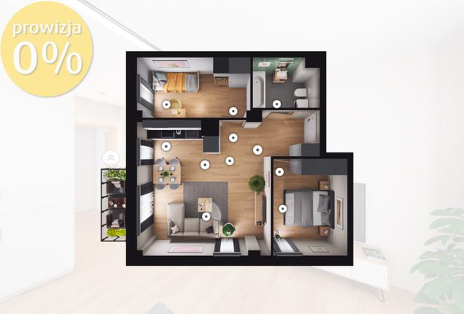 Morizon WP ogłoszenia   Mieszkanie na sprzedaż, Sosnowiec Sielec, 52 m²   8973