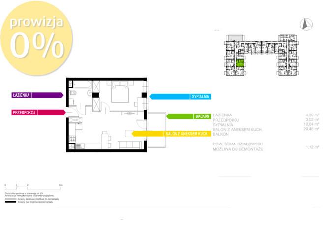 Morizon WP ogłoszenia   Mieszkanie na sprzedaż, Sosnowiec Sielec, 41 m²   0150
