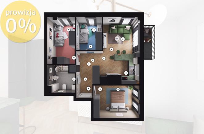 Morizon WP ogłoszenia | Mieszkanie na sprzedaż, Gliwice Stare Gliwice, 58 m² | 6554