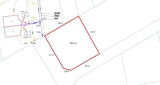 Morizon WP ogłoszenia   Działka na sprzedaż, Czaple, 945 m²   2428