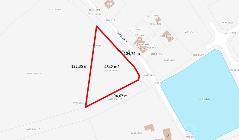 Działka na sprzedaż, Gdańsk Kokoszki, 4842 m² | Morizon.pl | 0558