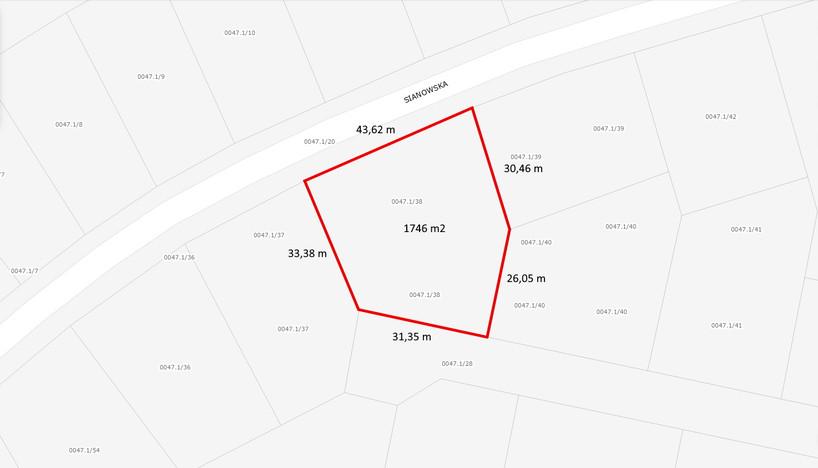 Działka na sprzedaż, Gdańsk Kokoszki, 1746 m² | Morizon.pl | 3826