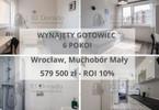 Morizon WP ogłoszenia | Mieszkanie na sprzedaż, Wrocław Muchobór Mały, 67 m² | 9036