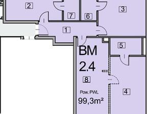 Mieszkanie w inwestycji Deo Plaza, Gdańsk, 99 m²