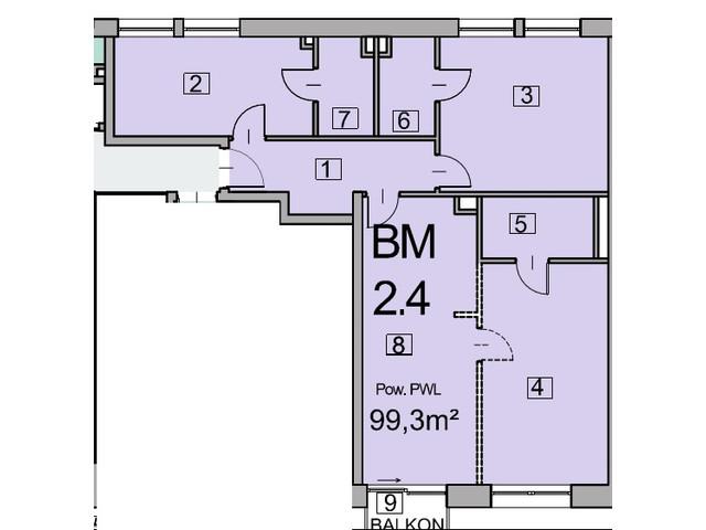 Morizon WP ogłoszenia | Mieszkanie w inwestycji Deo Plaza, Gdańsk, 99 m² | 5545