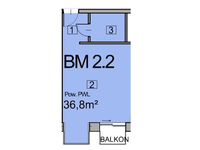 Morizon WP ogłoszenia | Mieszkanie w inwestycji Deo Plaza, Gdańsk, 37 m² | 5544