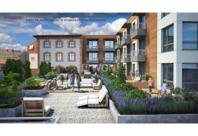 Morizon WP ogłoszenia   Mieszkanie na sprzedaż, Starogard Gdański Kościuszki , 39 m²   3196