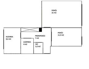 Mieszkanie na sprzedaż, Warszawa Mokotów, 54 m²