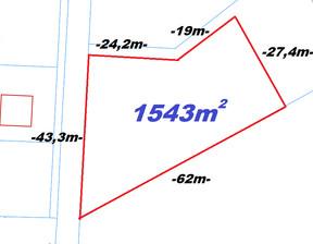 Działka na sprzedaż, Gruszczyn, 1544 m²
