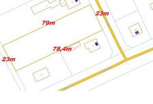 Działka na sprzedaż, Gruszczyn Kolejowa, 1823 m²