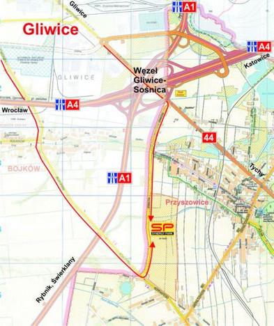 Działka na sprzedaż, Gliwice Sośnica, 2500 m² | Morizon.pl | 3845