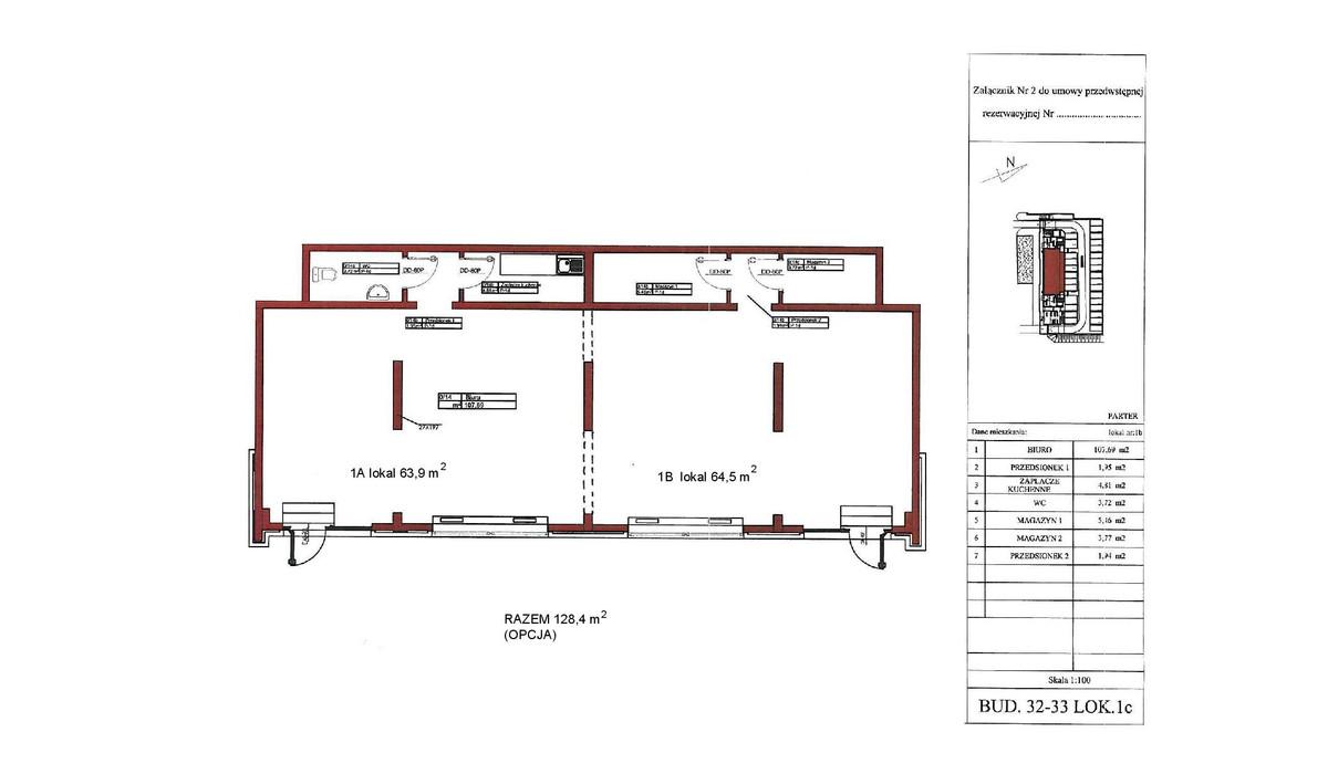 Biuro w inwestycji Ogrody Jerozolimskie, Warszawa, 128 m² | Morizon.pl | 7632