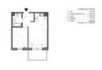 Mieszkanie w inwestycji Signum, Gdynia, 44 m² | Morizon.pl | 0122 nr2