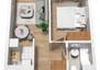 Morizon WP ogłoszenia | Mieszkanie w inwestycji Stawowa Przystań, Kraków, 34 m² | 7760