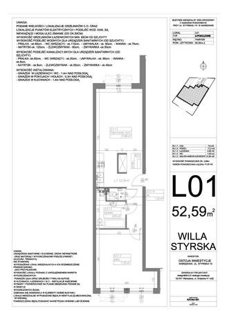 Mieszkanie w inwestycji Willa Styrska, Warszawa, 52 m² | Morizon.pl | 8739