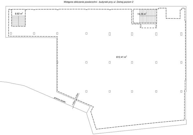 Lokal usługowy w inwestycji Dolna, Warszawa, 612 m² | Morizon.pl | 7524