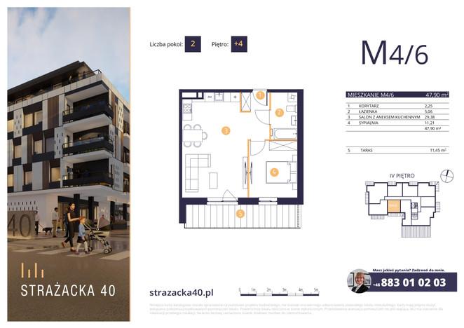 Mieszkanie w inwestycji Strażacka 40, Rzeszów, 48 m² | Morizon.pl | 2386