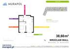 Mieszkanie w inwestycji Murapol Zielona Toskania, Wrocław, 39 m² | Morizon.pl | 3798 nr2