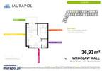Mieszkanie w inwestycji Murapol Zielona Toskania, Wrocław, 37 m²   Morizon.pl   3842 nr2