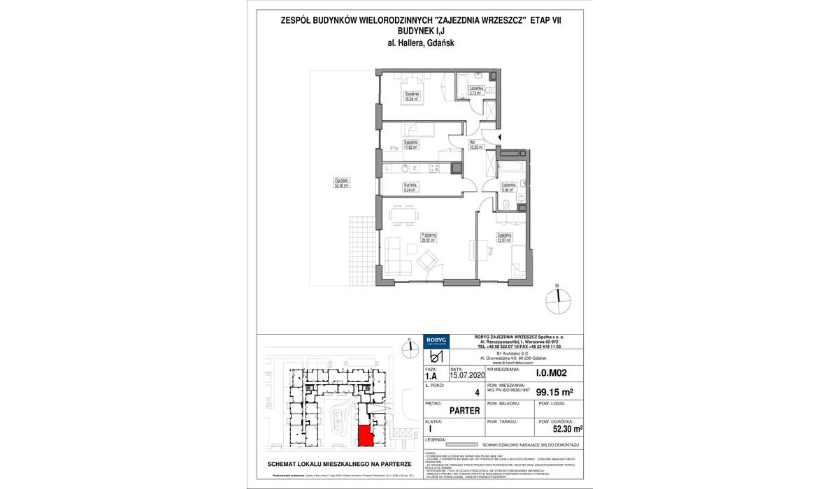Mieszkanie w inwestycji Zajezdnia Wrzeszcz, Gdańsk, 99 m²   Morizon.pl   2305
