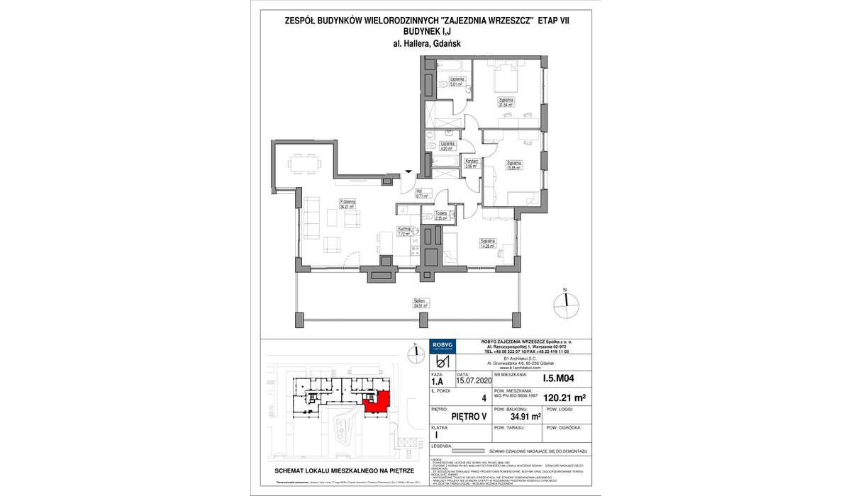 Mieszkanie w inwestycji Zajezdnia Wrzeszcz, Gdańsk, 120 m²   Morizon.pl   2306