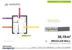 Mieszkanie w inwestycji Murapol Zielona Toskania, Wrocław, 36 m² | Morizon.pl | 7085 nr2