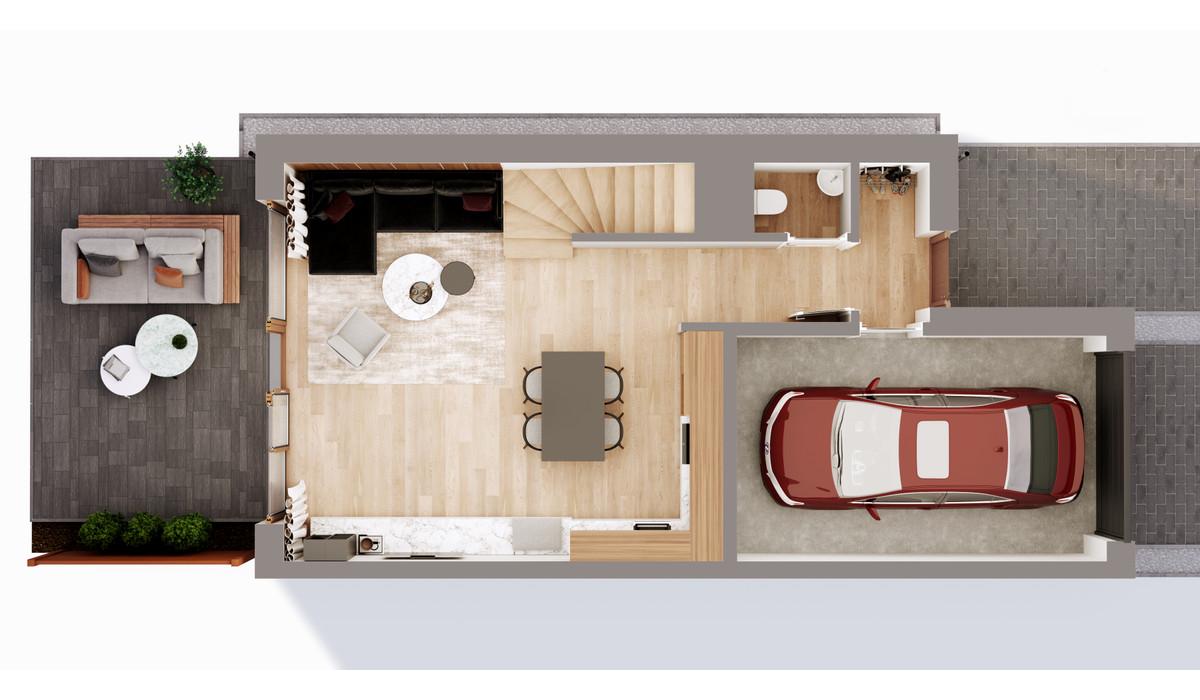 Mieszkanie w inwestycji Chmielowice Apartamenty, Chmielowice, 103 m² | Morizon.pl | 2336