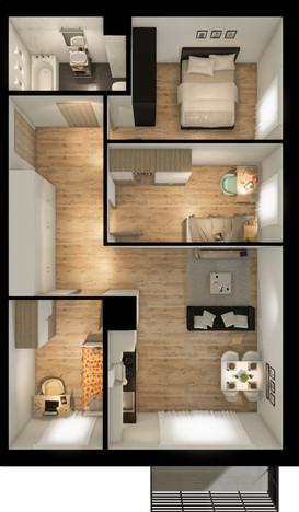 Mieszkanie w inwestycji Signum, Gdynia, 67 m² | Morizon.pl | 0139