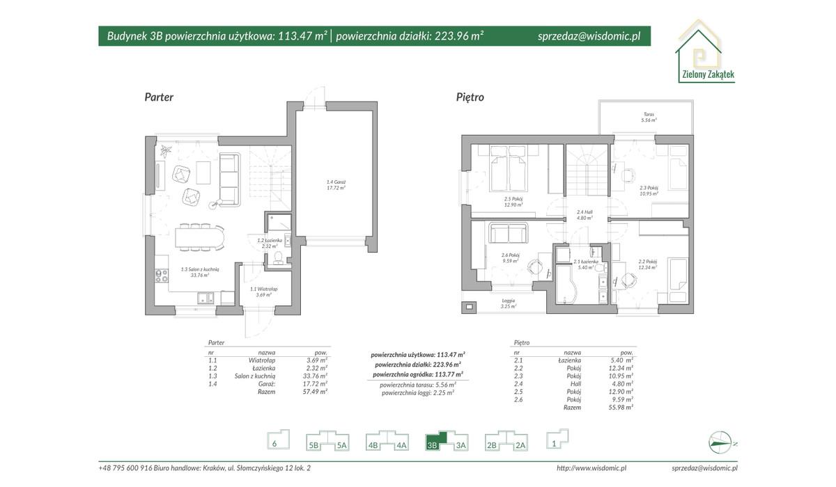 Dom w inwestycji ZIELONY ZAKĄTEK, Kraków, 117 m²   Morizon.pl   2889