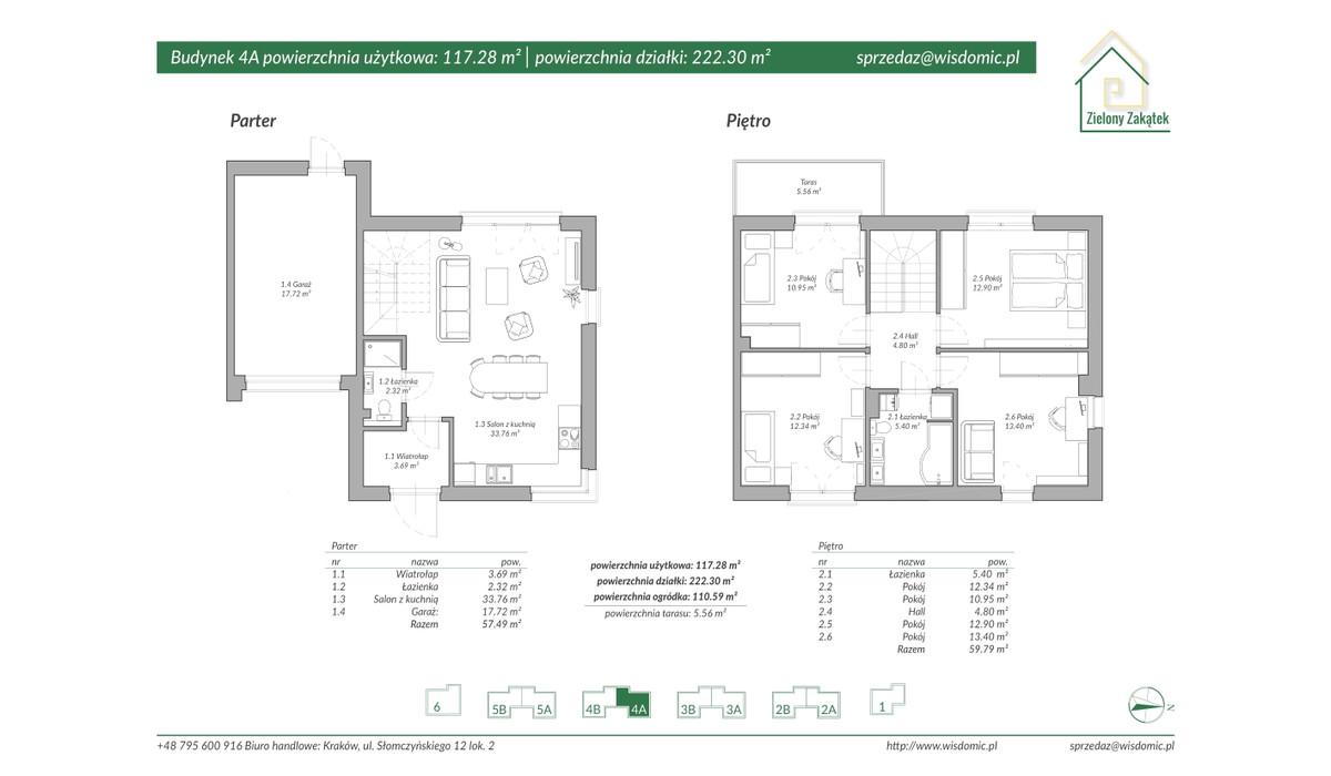 Dom w inwestycji ZIELONY ZAKĄTEK, Kraków, 113 m²   Morizon.pl   2890