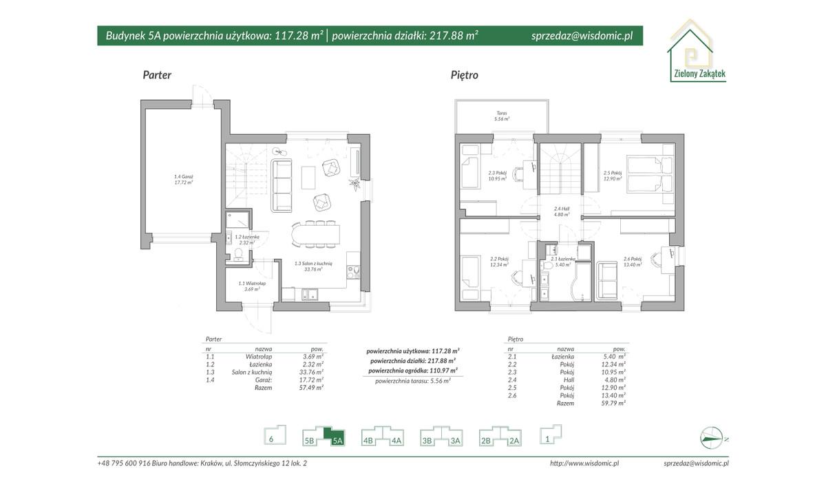Dom w inwestycji ZIELONY ZAKĄTEK, Kraków, 113 m²   Morizon.pl   2893